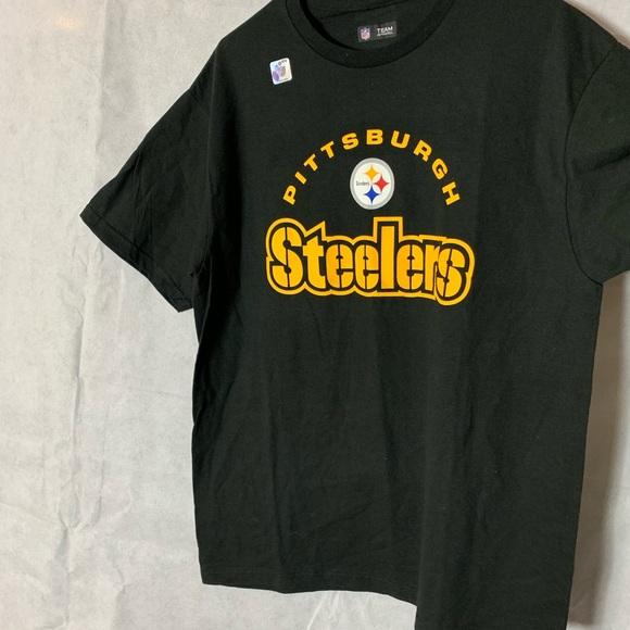 promo code 8afd8 92b50 2/$15 Large NFL Pittsburgh Steelers Shirt NWT
